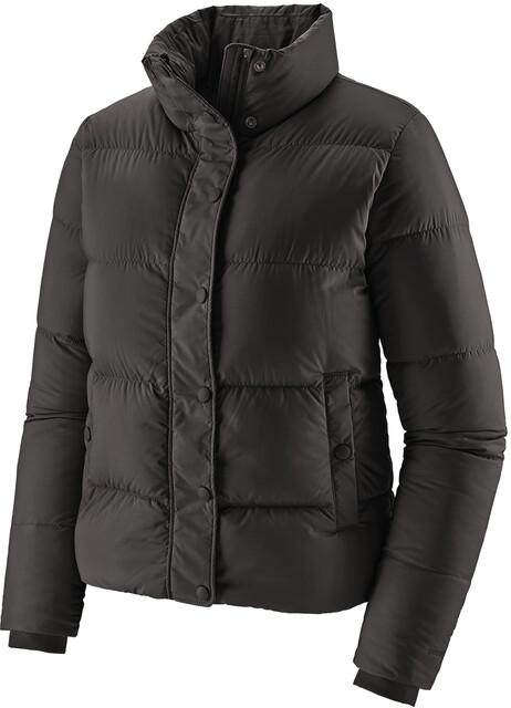 patagonia down shirt frauen daunenjacke schwarz